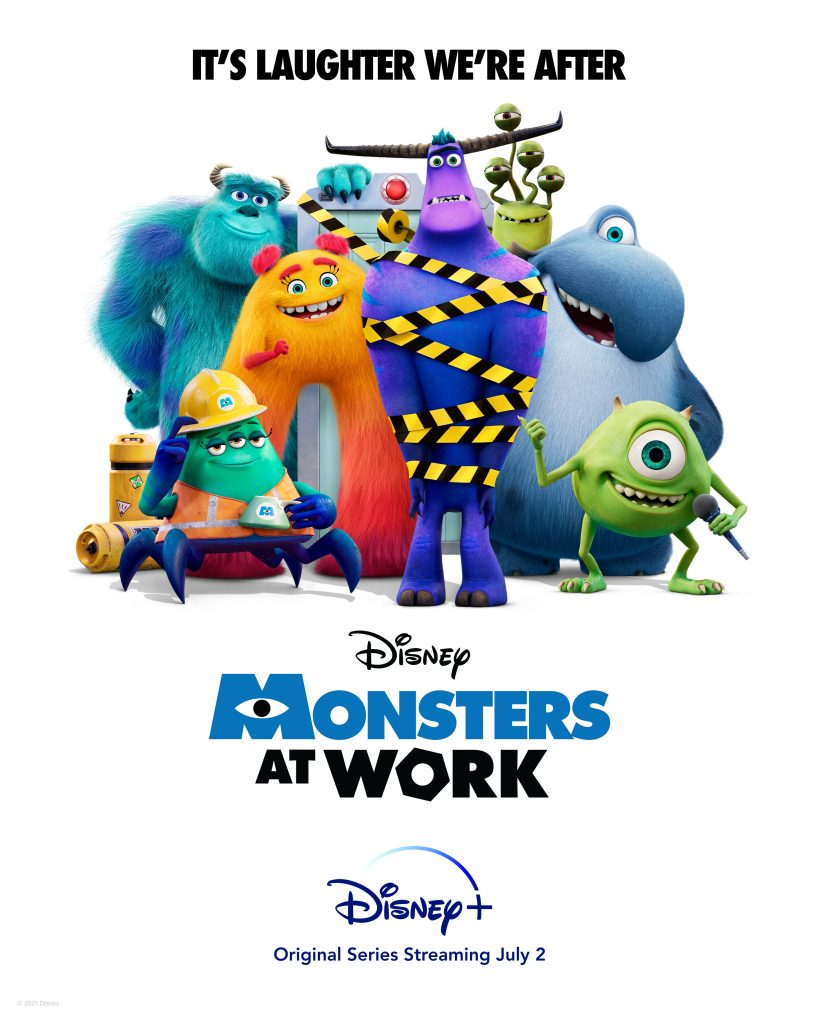 Monsters at Work: A New Disney Plus Series  Image courtesy of Disney Wiki Fandom